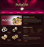 webdesign : jewelry, body, collar