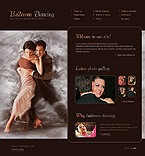 webdesign : dancing, tempo, flamenco