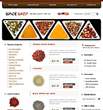 webdesign : spice, cinnamon, dried