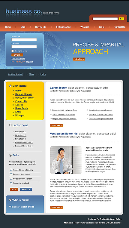 webdesign : Big, Screenshot 17507