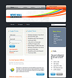 webdesign : rubric, health, sport