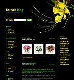 webdesign : arrangement, wedding, lilies
