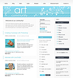 webdesign : webpage, gallery, visitors