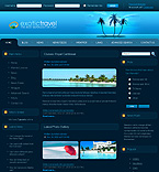 webdesign : car, rental, vacation