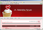 webdesign : forum, candle, delivery