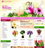 webdesign : gifts, lilies, tulip