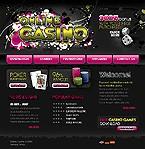webdesign : jackpot, bonuses, cash