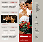 webdesign : wedding, family, flowers