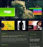webdesign : negga, artist, support