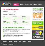 webdesign : printer, bind, flyers