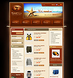 webdesign : travel, climbing, navigation