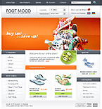 webdesign : shoes, online, Columbia