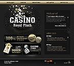 webdesign : online, baccarat, blackjack