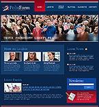 webdesign : Labour, Conservative, information