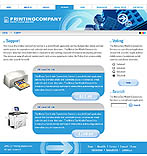 webdesign : company, polygraphy, replication