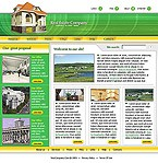 webdesign : services, apartment, architecture