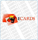 webdesign : e-card, electronic, logo