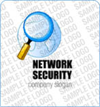 webdesign : network, security, logo