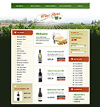 webdesign : alcohol, celebration, site