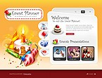 webdesign : planner, entertainment, birthday