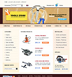 webdesign : products, electric, rent