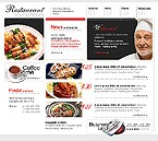 webdesign : restaurant, menu, wine