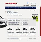 webdesign : car, used, exhibition
