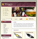 webdesign : white, cabernet, bottle