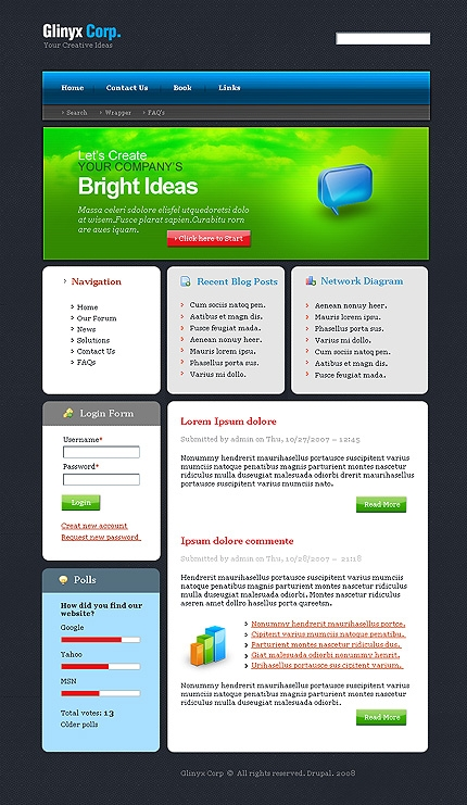 webdesign : Big, Screenshot 20860