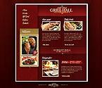 webdesign : hall, flavor, testimonials