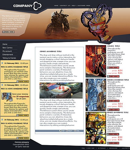 webdesign : Big, Screenshot 2140