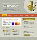 webdesign : science, space, biotech