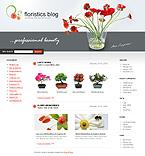 webdesign : floristic, idea, occasions