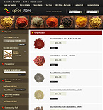 webdesign : spicy, pepper, herbs