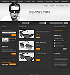 Sunglasses magento template