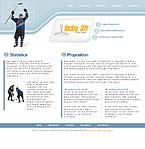 webdesign : game, gloves, goal