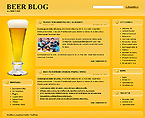 webdesign : beer, bottle, menu