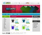 webdesign : sweatshirt, t-shirt, shoes