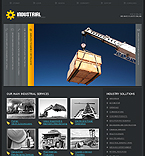 webdesign : company, construction, buildings