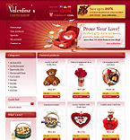 webdesign : presents, cards, heart
