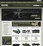 webdesign : online, gun, scope