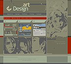 webdesign : painters, gallery, offers