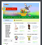 webdesign : gifts, specials, holiday