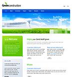 webdesign : green, construction, company