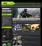 webdesign : shooting, gamer, rpg