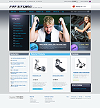 webdesign : store, athletic, summer