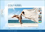 webdesign : russel, portfolio, cameras