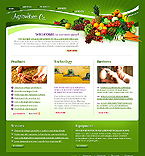webdesign : company, products, grassland