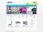 webdesign : fitness, clothes, golf