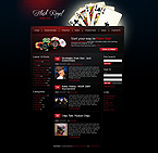 webdesign : blog, roulette, players